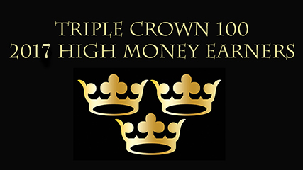 Triple Crown High Money Earners