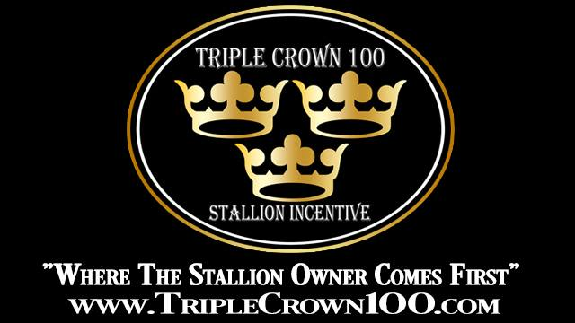 Triple Crown 100 Stallion Incentive